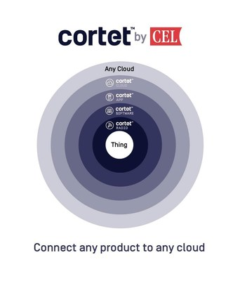 Cortet(TM) is a turnkey wireless solution which bridges the gap between 'things' and the cloud;  more specifically, it enables product manufacturers to quickly and easily link their physical 'thing' to the digital world.