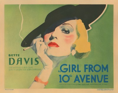 Morris Everett, Jr. Collection: Bette Davis: The Girl from 10th Avenue (1935) (PRNewsFoto/Profiles in History)