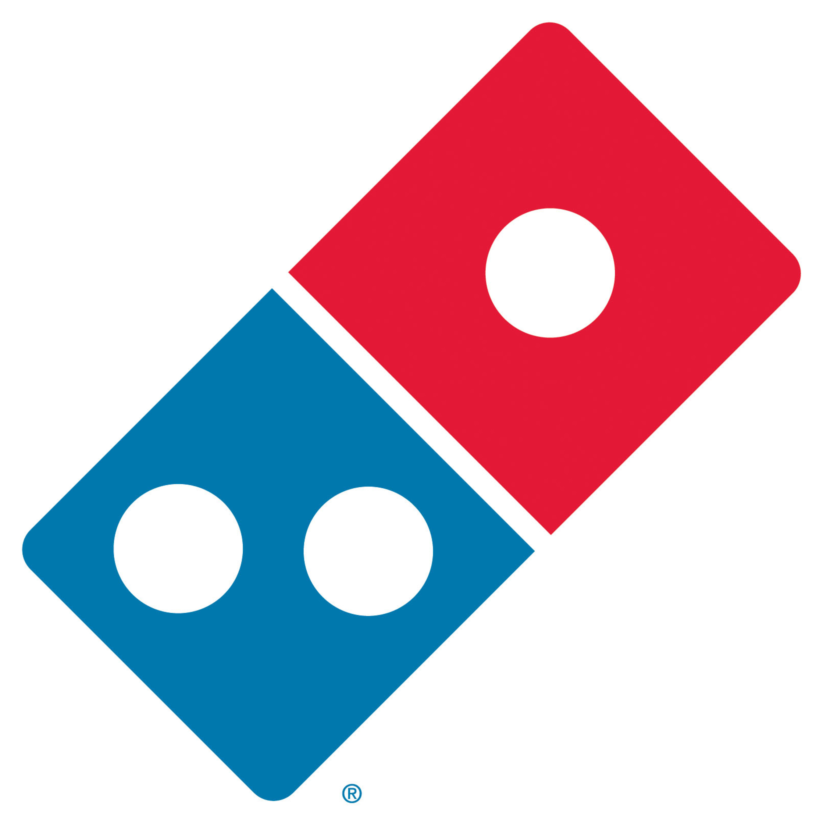 Domino's Pizza unveils new logo. Will be seen on all new stores and those undergoing major renovations