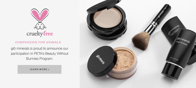 glo minerals is now cruelty-free!