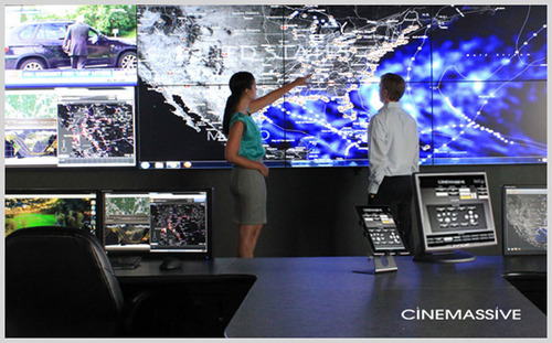 CineMassive Partners with Haivision at 2012 TechNet Land Forces South Trade Show