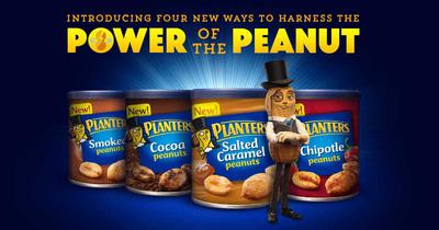 Introducing four new ways to Harness the Power of the Peanut (PRNewsFoto/Planters) (PRNewsFoto/Planters)