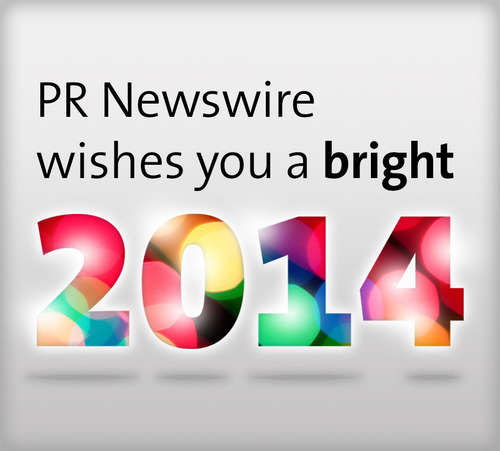 Happy holidays from PR Newswire! (PRNewsFoto/PR Newswire Association LLC) (PRNewsFoto/PR NEWSWIRE ASSOCIATION LLC)