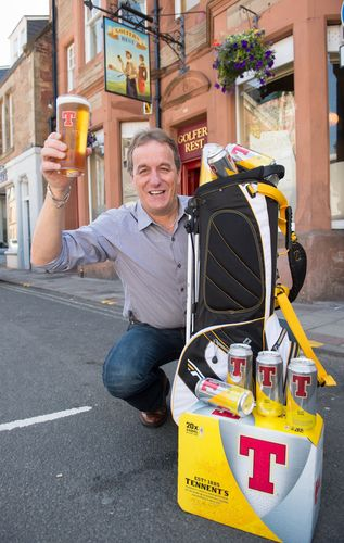 Tennent's on the 'T' with Golfing Star
