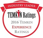 2016 Temkin Experience Ratings