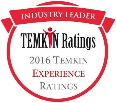 2016 Temkin Experience Ratings
