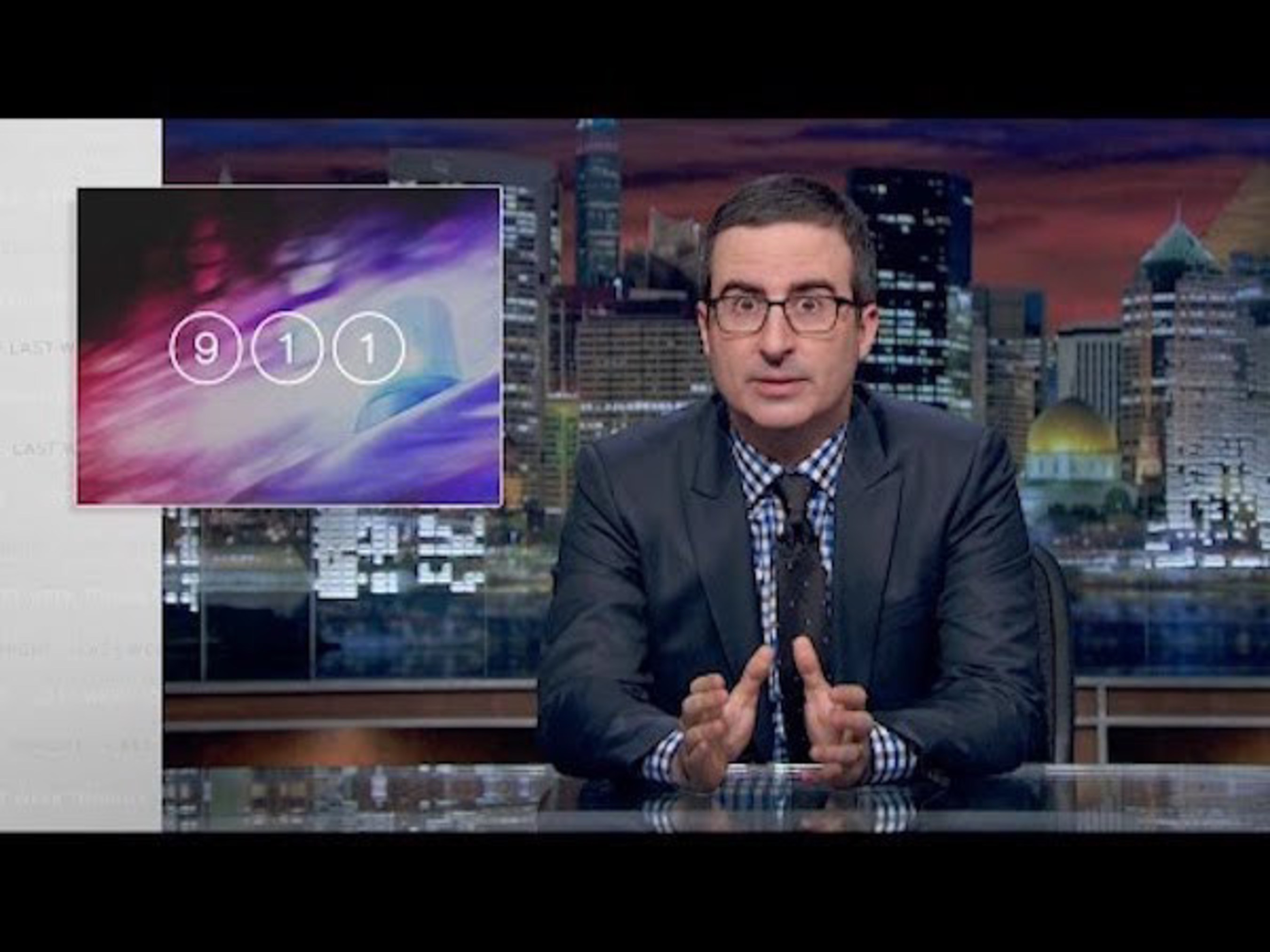 Critical Shortcomings of 911 Systems a Featured Segment on HBO's Last Week Tonight With John Oliver