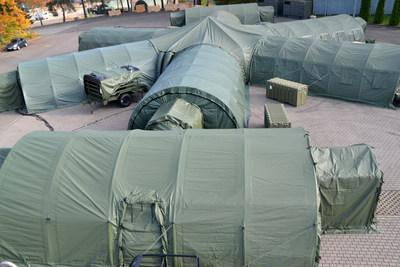 & Alaska Replaces All DRASH Tents for 7th MSC