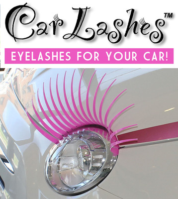 Wink Pink and fight breast cancer - for each pair of Pink CarLashes(TM) sold through carlashes.com during October, CarLashes(TM) will donate $5 to the Image Reborn Foundation in honor of National Breast Cancer Awareness Month.  (PRNewsFoto/CarLashes)