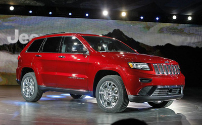 2014 Jeep Grand Cherokee now available in Lawrence!  (PRNewsFoto/Briggs Chrysler)