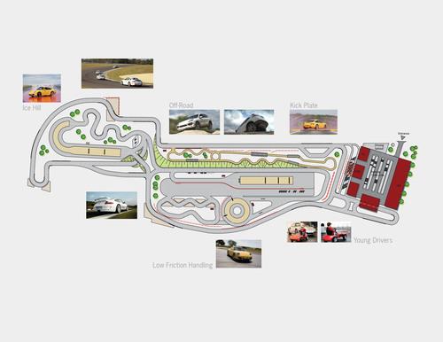 Porsche's plans for their new facility headquarters include the Porsche Customer Experience Center, a ...