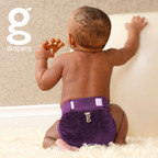 Inspired by royalty. Available for everyone. Announcing gRegal gPants. Breathable and reusable diaper covers for use with gDiapers' disposable inserts that you can flush, compost or toss.  (PRNewsFoto/gDiapers)