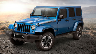 The 2014 Jeep Wrangler Unlimited Polar Edition.  (PRNewsFoto/Chrysler Group LLC)