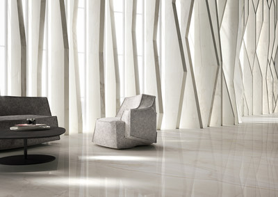 "Emser Tile EXPANSE in Onice Bianco Polished | 59"" x 118"""