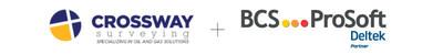Crossway Surveying Partners with BCS Prosoft to Launch Deltek Vision (PRNewsFoto/BCS ProSoft)