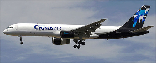 "Corporacion Ygnus Air, S.A., ""Cygnus"" of Madrid Spain the subject of a share exchange agreement with ..."