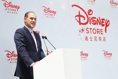 Paul Candland, President of The Walt Disney Company, Asia delivers opening speech
