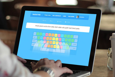 Ratatype.com -- learn touch typing with the help of friends.  (PRNewsFoto/Ratatype)