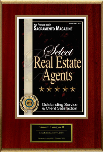 "Samuel Longwell Selected For ""Select Real Estate Agents"".  (PRNewsFoto/American Registry)"