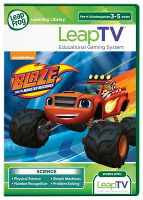 LeapTV: Nickelodeon's Blaze and the Monster Machines