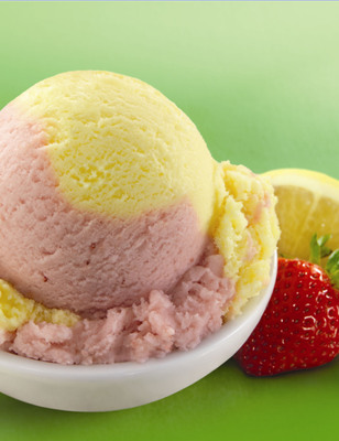 Baskin-Robbins Welcomes The Summer With Strawberry Lemonade Punch Sherbet, June's Flavor Of The Month