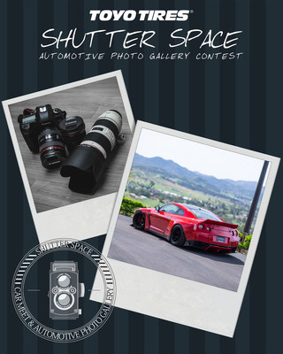 Toyo Tires Holds Photo Contest; Calls for Automotive-Themed Photos. Submit your best car or truck photo here for a chance to win: http://woobox.com/xxuarw. Toyo Tire U.S.A. Corp. (Toyo Tires(R)) is holding the Shutter Space Automotive Photo Gallery Contest now through May 27, 2016.