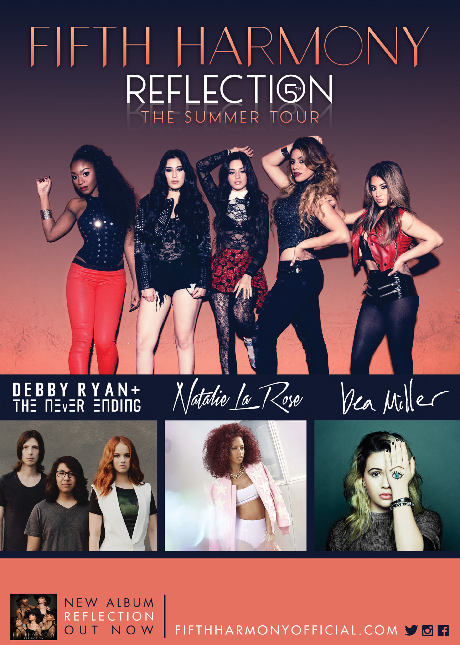 Pop Sensation Fifth Harmony Announces The 2015 Reflection: The Summer Tour