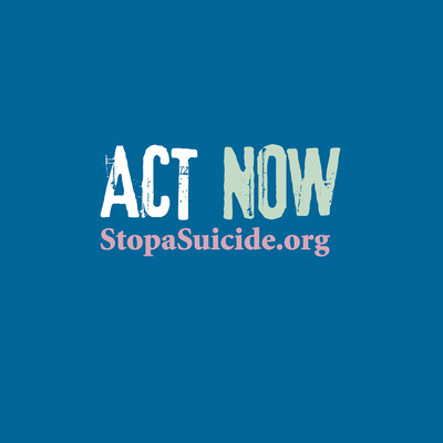 Screening for Mental Health Urges the Public to Act Now to Stop a Suicide as part of the National Depression Screening Day(R) Campaign stopasuicide.org