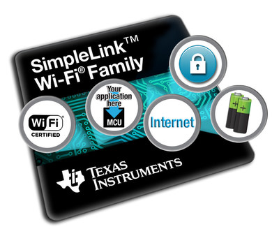 TI's new SimpleLink (TM) Wi-Fi(R) devices are first to be Wi-Fi CERTIFIED(TM) at the chip level