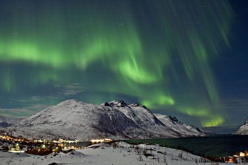 Polarlicht diesen Winter besonders stark