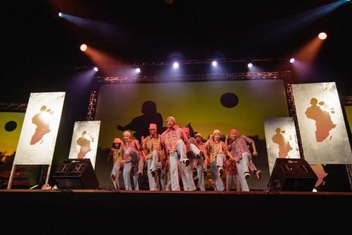 Enactus World Cup opening ceremony performance by African Footprint (PRNewsFoto/Enactus) (PRNewsFoto/Enactus)