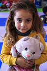 Masa*, 5, in a Save the Children child friendly space in southern Turkey. Photo credit: Ahmad Baroudi/Save the Children