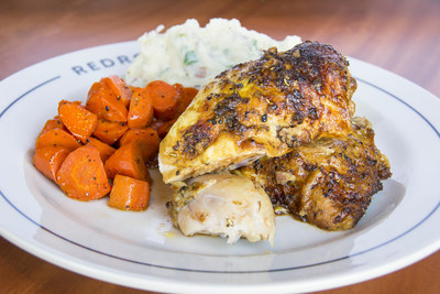 Redrock Canyon Grill's Signature Wood-Fired Rotisserie Chicken