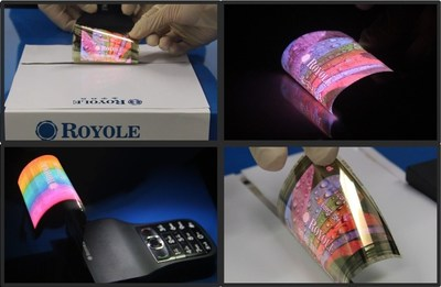 Royole Develops World's Thinnest 0.01 mm Full-Color AMOLED Flexible Display