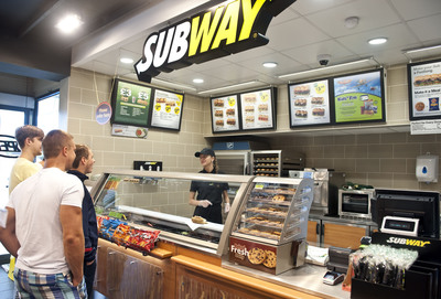The SUBWAY(R) restaurant chain, which celebrates its 48th year in business, opened its 40,000th location at an AppleGreen petrol station in Ipswich, England. The milestone opening further illustrates the strength and consistent growth of the SUBWAY(R) brand, which has opened 1,761 new locations around the world since the start of the year.  (PRNewsFoto/SUBWAY)