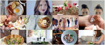 New LEAF.tv website features shoppable 30-90 second how-to videos rooted in living, eating and fashion. www.Leaf.tv.  (PRNewsFoto/LEAF.tv)