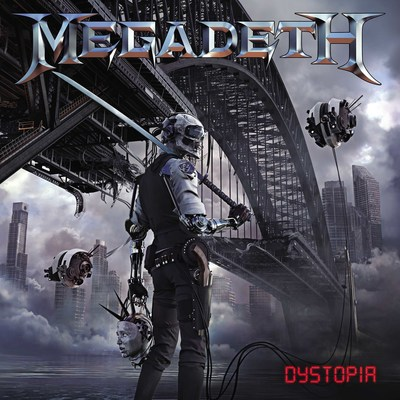 Image result for megadeth dystopia album cover