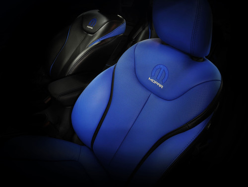 Have a seat. Chrysler Group LLC gives a glimpse inside of the new Mopar '13. (PRNewsFoto/Chrysler Group ...