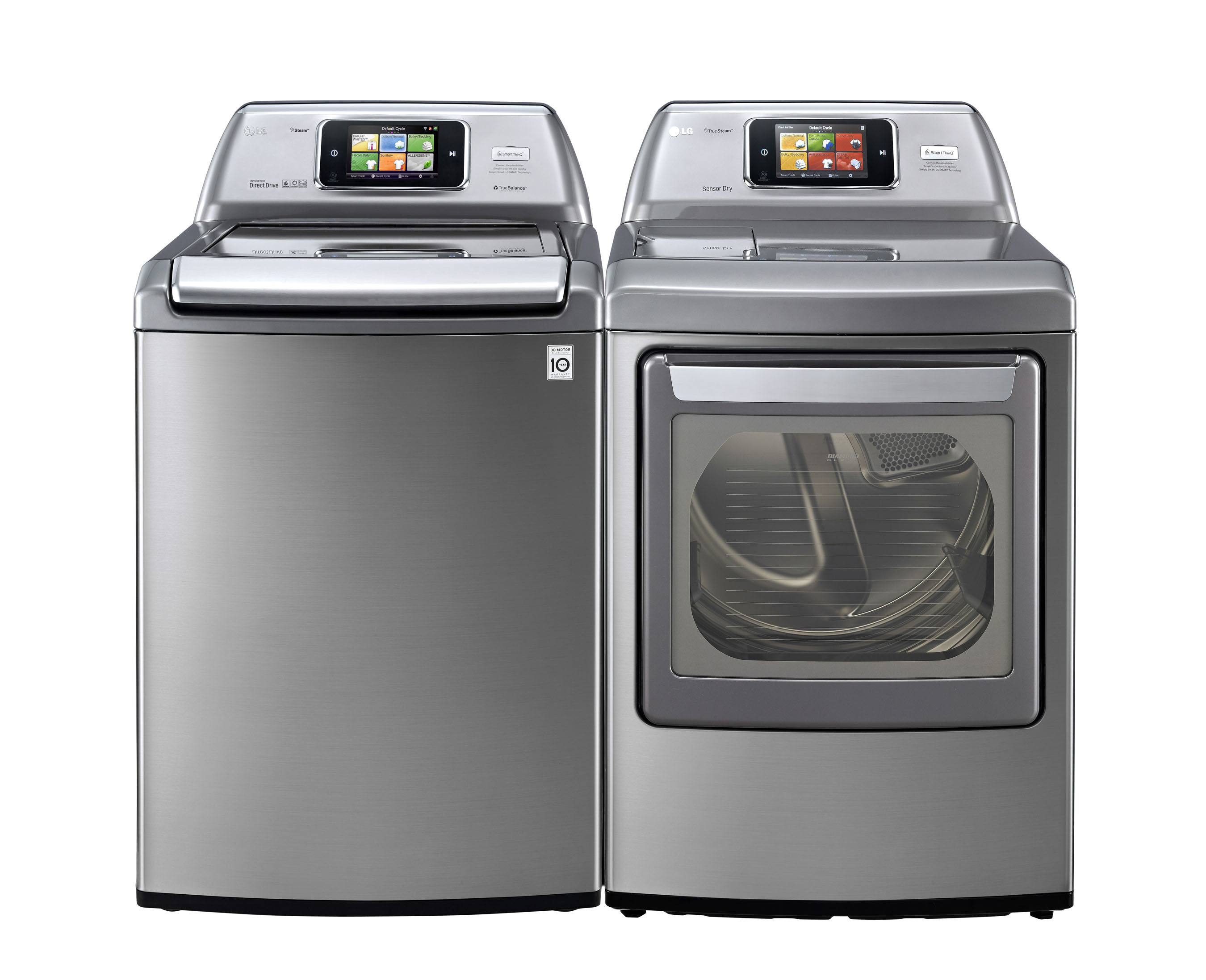 LG Electronics Introduces Top-Load Steam Washer.  (PRNewsFoto/LG Electronics USA)