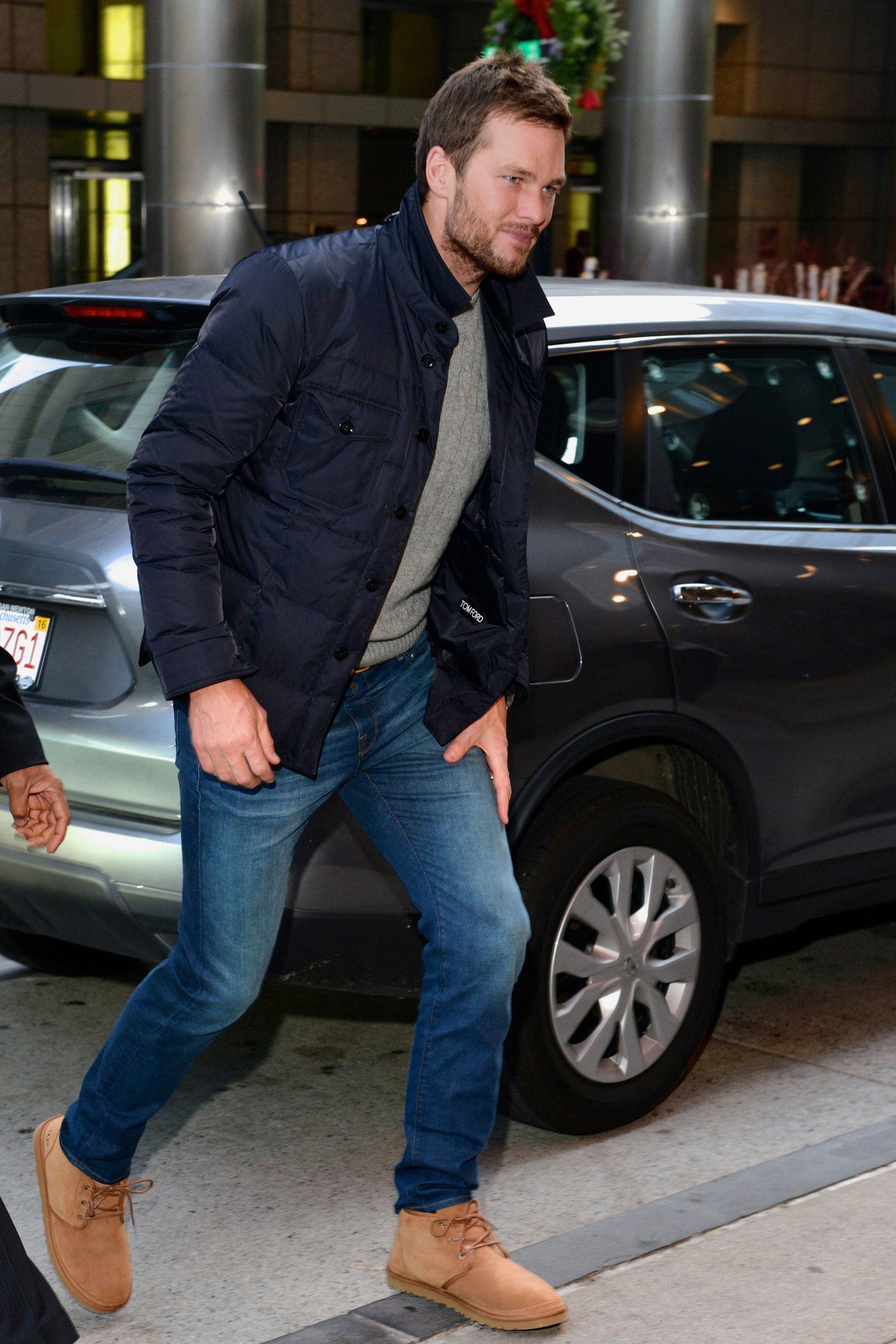 Tom Brady spotted out and about in the UGG Neumel chukka 6e95f2ca7