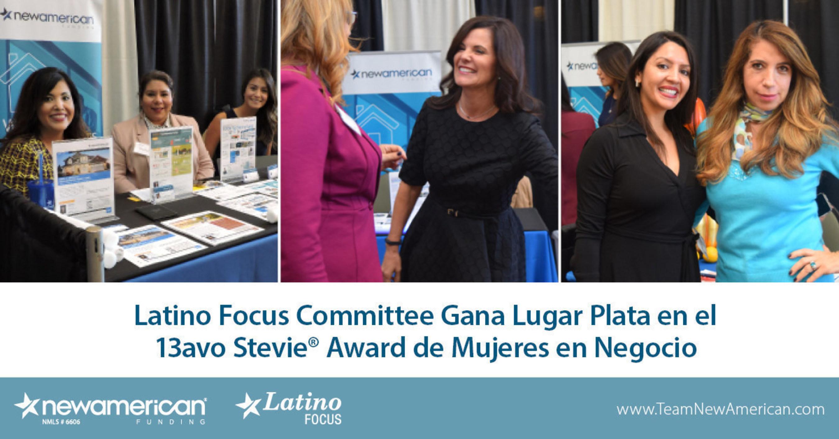 Latino Focus Committee gana el Premio Plata en la edicion anual numero 13 de los Stevie(R) Awards for Women in Business.