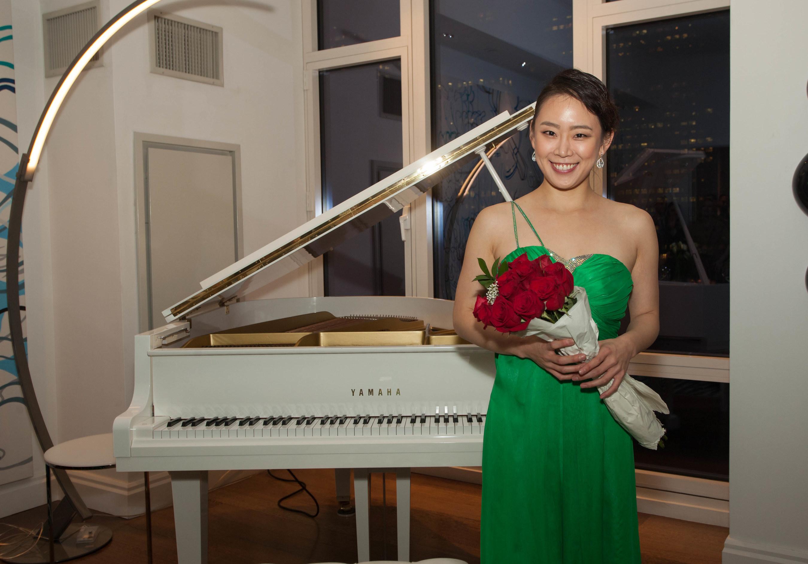 Yoonie Han Concert Pianist Closing Ceremony