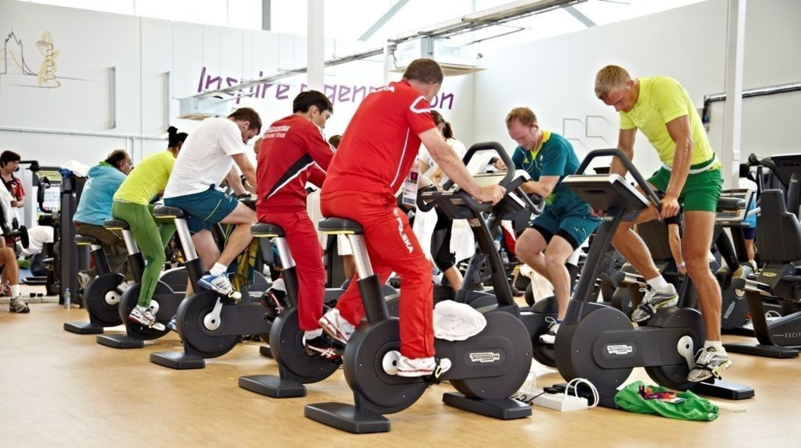 Technogym - Official Supplier of the Olympic games for the 6th time (PRNewsFoto/Technogym)