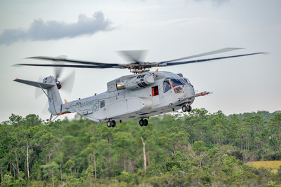 Sikorsky CH-53K 'King Stallion' First Flight
