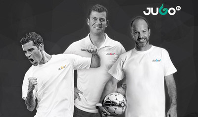 Rafa Marquez, Ramon Ramirez and Luis Garcia partner up with JUGOtv to launch the first multi-platform digital sports network designed to bring Mexican soccer and its stars closer to fans in the U.S. and Mexico