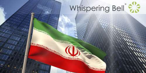 Whispering Bell Launches Iran Market Entry Service Offering (PRNewsFoto/Whispering Bell) (PRNewsFoto/Whispering Bell)