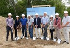 """Creekview Construction Team (from left to right) Jordan Bartle, Full Circle Communities, Lindsey Haines, Full Circle Communities, Blake Harmon, Novak Construction, Jim Keiler, Novak Construction, Greg Terwilliger, Novak Construction, Ryan Solum, Manhard Consulting, Therese Thompson, Cordogan Clark & Associates, Joshua Wilmoth, Full Circle Communities and Charles """"Chip"""" Eldredge III, Charles Eldredge Real Estate."""