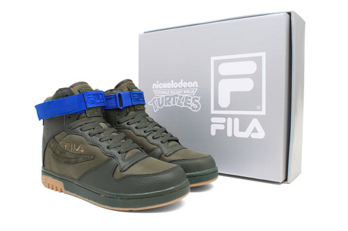 Nickelodeon and Fila Release Limited-Edition Line of Teenage Mutant Ninja Turtles Adult Sneakers.  (PRNewsFoto/Nickelodeon)