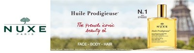 Famed French Beauty Brand Nuxe debuts on ulta.com. Twenty-two Nuxe items will now be available on ulta.com, including their iconic Huile Prodigieuse Dry Oil