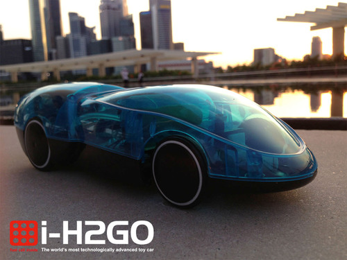 i-H2GO high-tech toy car is powered by a hydrogen fuel cell & controlled by your phone.  (PRNewsFoto/Horizon ...